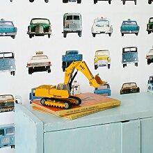 Studio Ditte Auto Tapete (l) 600 X (b) 48.5 Cm