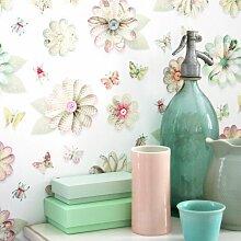 Studio Ditte Blumen Tapete (l) 600.00 X (b) 48.50