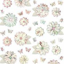 Studio Ditte Blumen Tapete (l) 600 X (b) 48.5 Cm