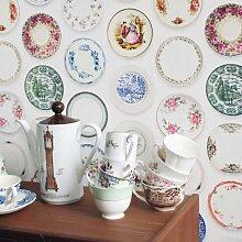 Studio Ditte Porzellan Buntes Geschirr Tapete (l)
