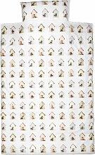 Studio Ditte Vogelhaus Juniorbettwäsche 100x135