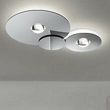 Studio Italia Design BUGIA DOUBLE LED-Deckenleuchte