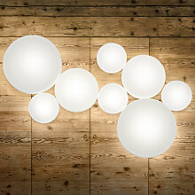 Studio Italia Design MAKEUP LED-Wand-Deckenleuchte