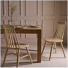 Stühle aus Eiche Aurore - 2-Teil-Stühle -