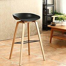 Stühle Barhocker aus Holz Kreativer Barhocker