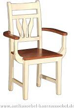 Stühle Buche Holzstuhl mit Armlehne Massivholz