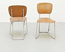 Stühle von Armin Wirth für Aluflex, 1940, 2er Set
