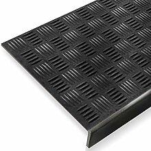 Stufenmatte aus Gummi | mit stark rutschhemmendem