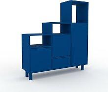 Stufenregal Blaugrün - Modernes Treppenregal für