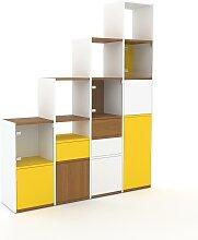 Stufenregal Gelb - Modernes Treppenregal für