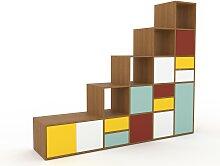 Stufenregal Mint - Modernes Treppenregal für