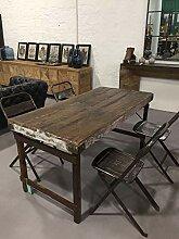 STUFF Loft Vintage Esstisch aus Altholz Massivholz