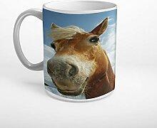 Stufffactory Pferd Himmel Wolken Tier Tasse Spruch