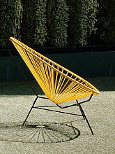 Stuhl Acapulco Chair Acapulco Design gelb,