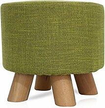 Stuhl aus Massivholz Art und Weise kleiner Hocker Kreativer Sofa-Stuhl Holz für den Schuhhocker Art und WeisehauptKaffeetisch Sofa Hocker (Farbe wahlweise freigestellt) ( farbe : #1 )