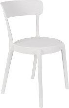 Stuhl - Bistro - Weiß