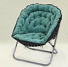 Stuhl Dunkelgrün Klappliege Lounge Sofa Siesta
