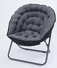 Stuhl Hellgrau Klappliege Lounge Sofa Siesta Baby