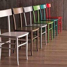 Stuhl in Weiß Buche (2er Set)