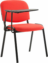 Stuhl Ken mit Klapptisch Stoff-rot