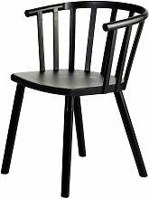 Stuhl Madlen Black, 76 × 43 × 54 cm