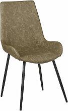 Stuhl Megan / grün, super für Innen und Außen