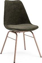 Stuhl - Minimal Deluxe - Graubraun