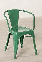 Stuhl mit Armlehnen LIX Grün Apfel Sklum