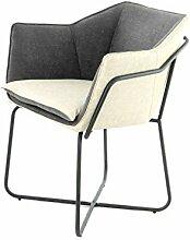 Stuhl Modern Stoff Polsterstuhl Esszimmerstuhl