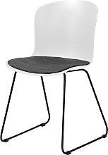Stuhl - Montreal - Weiß