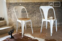 Stuhl Multipl's Weiß - Holz skandinavisches