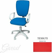 Stuhl Napoli Sessel Drehstuhl Stoff Operative Studie Büro verschiedenen Farben giosal ro