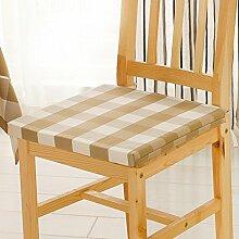 Stuhl-pad/ karo-stuhl dämpfung/./mahagoni stuhl seat mat-C 40x40cm(16x16inch)