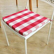 Stuhl-pad/ karo-stuhl dämpfung/./mahagoni stuhl seat mat-E 40x40cm(16x16inch)