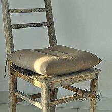 Stuhl-pad/leinen chair mat/dining stuhl kissen/kissen/sofa-kissen-C 45x45cm(18x18inch)