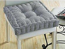 Stuhl-pad/leinen mat-E 39x39cm(15x15inch)