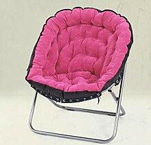 Stuhl Rose Red Klappliege Lounge Sofa