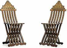 Stuhl - Stil Antik   Barock   Rokkoko   Louis XV / XVI   Klassische   Handgefertigt   Massivholz