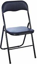 Stuhl Tipo schwarz/schwarz Konferenzstuhl Besucherstuhl Bürostuhl stapelbar Beistellstuhl