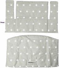 Stuhlauflage-Set Sterne für Tripp Trapp Hochstuhl