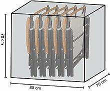 Stuhlhülle Schutzhaube Plane für 4-6 Klappstühle
