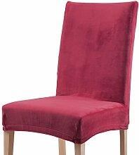 Stuhlhusse bordeaux Größe Stuhl
