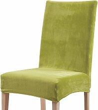 Stuhlhusse grün Größe Stuhl