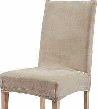 Stuhlhusse natur Größe Stuhl