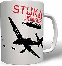 Stuka Bomber Sturzkampfbomber - Tasse Becher