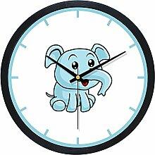 Stumm Die Minimalistische Uhr/Kinderzimmer Kinderzimmer Wanduhr/Wohnzimmer Ideen Personalisierte Wanduhr-E 10Zoll