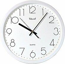 Stumme kreative Uhr Salon Uhr 12-Zoll-Wanduhr