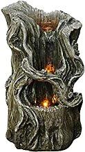 Stumpbrunnen Entspannungsbrunnen Zimmerbrunnen