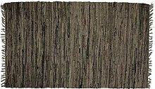 Sturbridge Flickenteppich Läufer Schokoladenbraun