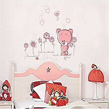 Stycars® Wall Sticker, Moe Moe Bear toon for kids